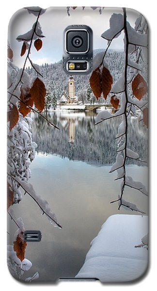 Lake Bohinj In Winter Galaxy S5 Case by Ian Middleton