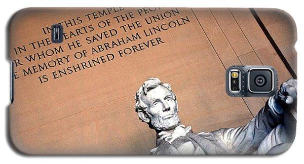 Lincoln Memorial Galaxy S5 Case