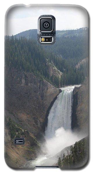 Lower Falls Yellowstone Np Galaxy S5 Case