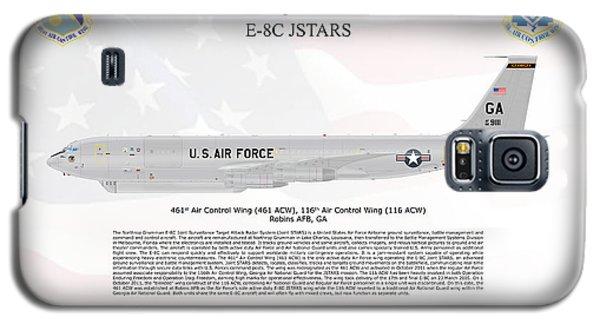 Galaxy S5 Case featuring the digital art Northrop Grumman E-8c Jstars by Arthur Eggers