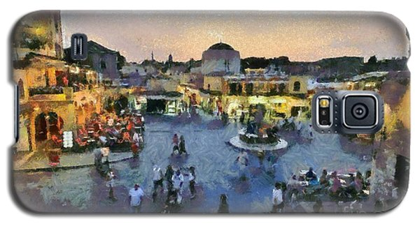 Old City Of Rhodes Galaxy S5 Case