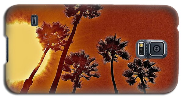 4 Palms N Sun Galaxy S5 Case