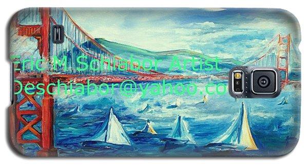 San Francisco Golden Gate Bridge Galaxy S5 Case by Eric  Schiabor