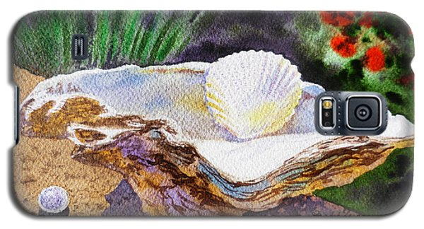 Sea Shell And Pearls Morning Light Galaxy S5 Case