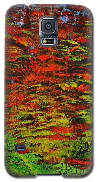 Galaxy S5 Case featuring the painting 4 Seasons Fall by P Dwain Morris