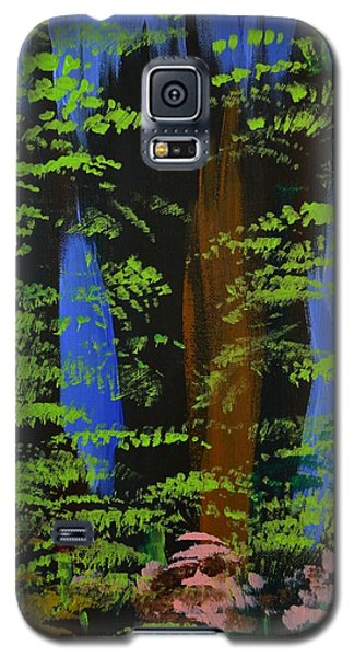 Galaxy S5 Case featuring the painting 4 Seasons Spring by P Dwain Morris
