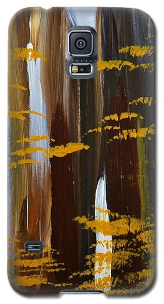 Galaxy S5 Case featuring the painting 4 Seasons Winter by P Dwain Morris