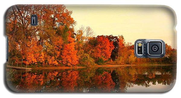 Shady Oak Lake  Galaxy S5 Case by Amanda Stadther