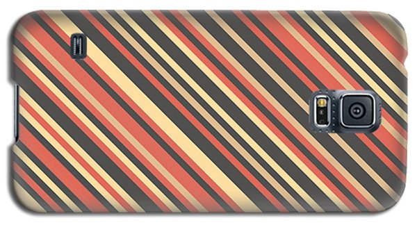 Striped Pattern Galaxy S5 Case by Mike Taylor