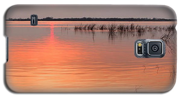 Sunset  River Panorama Galaxy S5 Case by Vitaliy Gladkiy