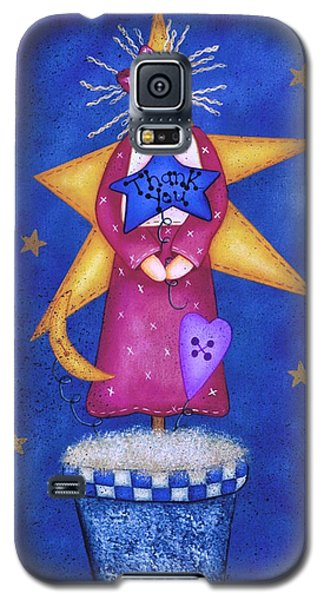 Thank You Galaxy S5 Case by Tracy Campbell