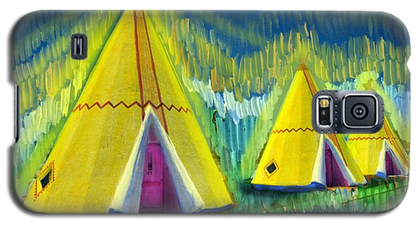 4 Tipis Galaxy S5 Case by Cindy McIntyre