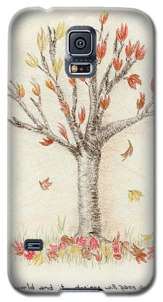 4 Trees-1st Tree Fall Galaxy S5 Case