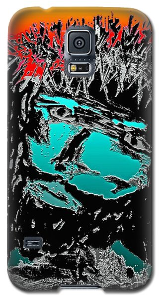 Galaxy S5 Case featuring the mixed media 4 U 4 Me by Everette McMahan jr