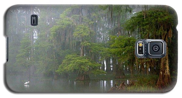 Egret Galaxy S5 Case - Usa, Louisiana, Lake Martin by Jaynes Gallery