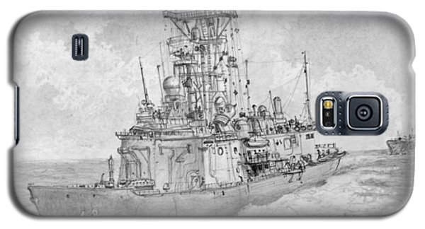 Usn Guided Missile Frigate Galaxy S5 Case by Jim Hubbard