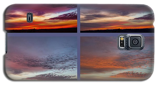 4 Views Of Sunrise 2 Galaxy S5 Case by Michael Waters