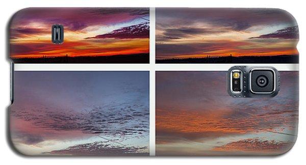 4 Views Of Sunrise Galaxy S5 Case