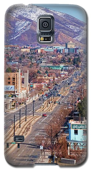 Galaxy S5 Case featuring the photograph 400 S Salt Lake City by Ely Arsha