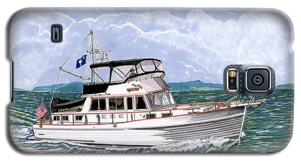42 Foot Grand Banks Motoryacht Galaxy S5 Case