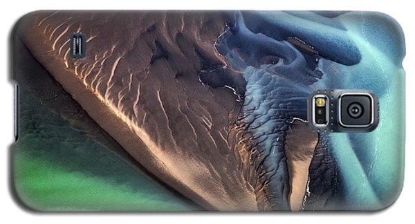 Iceland Aerial Photo Galaxy S5 Case