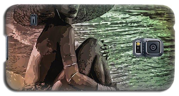 Rihanna Galaxy S5 Case by Svelby Art