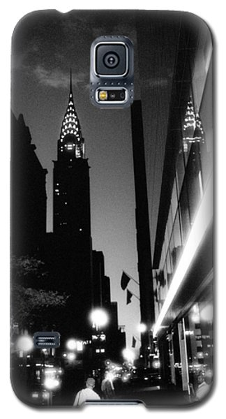 Galaxy S5 Case featuring the photograph 42nd-street-dawn by Dave Beckerman