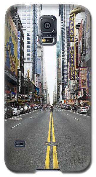 42nd Street - New York Galaxy S5 Case