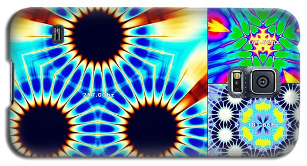432hz Cymatics Grid Galaxy S5 Case