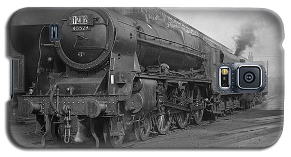 45529 Stephenson At Aintree Shed Galaxy S5 Case