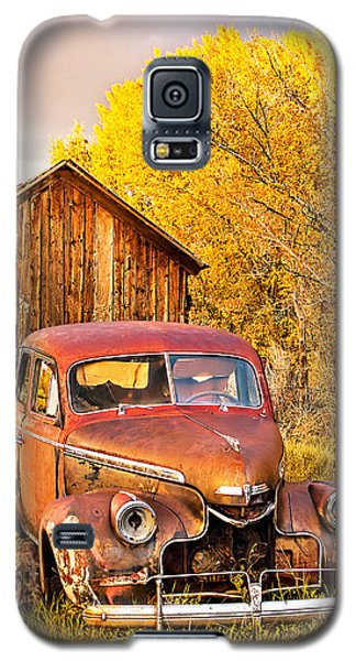 46 Chevy In The Weeds Galaxy S5 Case