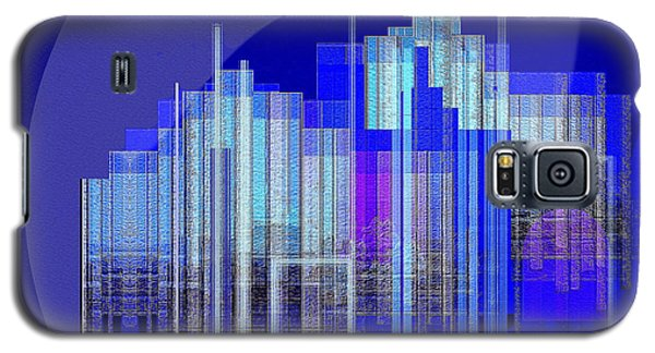 462 - Big City Abstract ... Galaxy S5 Case by Irmgard Schoendorf Welch