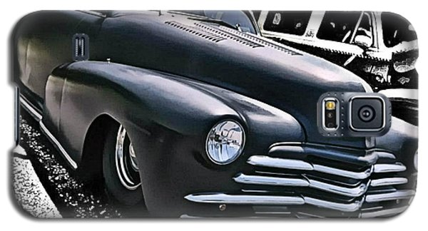 Galaxy S5 Case featuring the photograph '47 Chevy Lowrider by Victor Montgomery