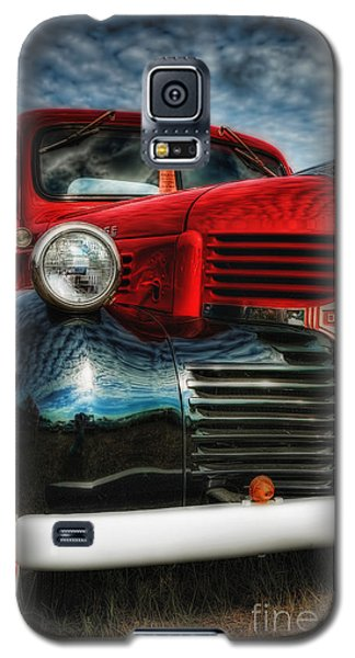 Galaxy S5 Case featuring the photograph 47 Dodge Pickup by Trey Foerster
