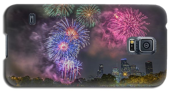 4th Of July In Houston Texas Galaxy S5 Case