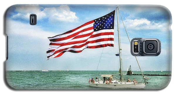 Galaxy S5 Case featuring the photograph 4th Of July - Navy Pier - Downtown Chicago by Photography  By Sai