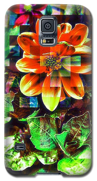 Edit Galaxy S5 Case - Abstract Flowers by Chris Drake