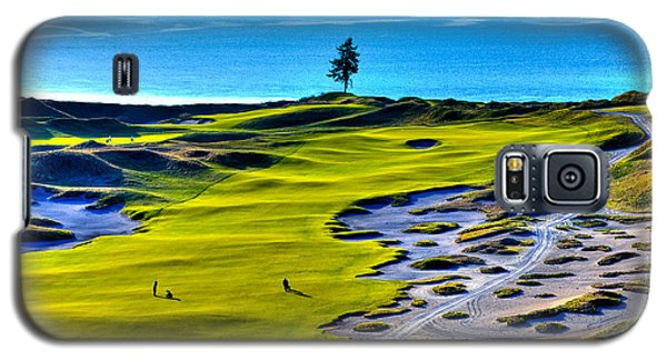 #5 At Chambers Bay Golf Course - Location Of The 2015 U.s. Open Tournament Galaxy S5 Case by David Patterson