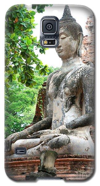Buddha Statue Galaxy S5 Case by Yew Kwang
