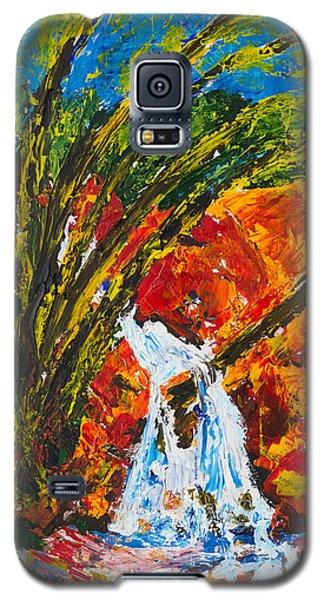Burch Creek Waterfall Galaxy S5 Case
