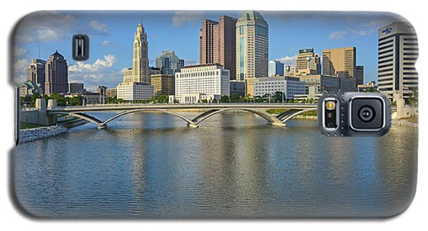 Fx1l-802 Columbus Ohio Skyline Photo Galaxy S5 Case