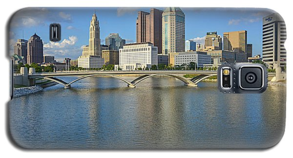 Fx1l-802 Columbus Ohio Skyline Photo Galaxy S5 Case