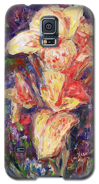 Galaxy S5 Case featuring the painting First Lady by Xueling Zou