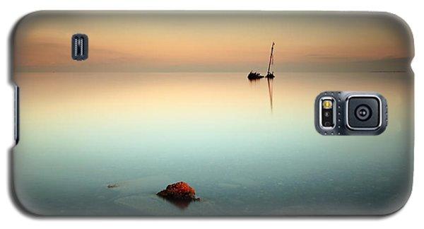 Flat Calm Shipwreck  Galaxy S5 Case