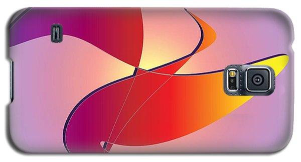 Galaxy S5 Case featuring the digital art Flight by Iris Gelbart