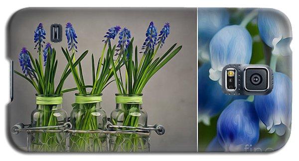 Hyacinth Still Life Galaxy S5 Case by Nailia Schwarz