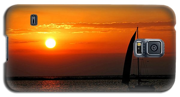 Lake Erie Sunset  Galaxy S5 Case