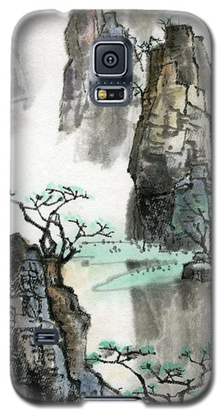 Landscape Galaxy S5 Case by Ping Yan