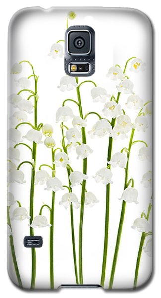 Lily-of-the-valley Flowers  Galaxy S5 Case by Elena Elisseeva