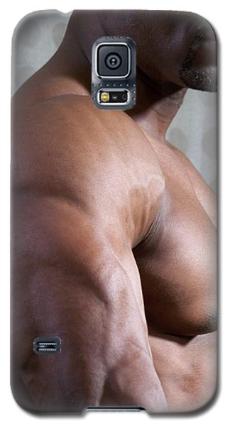 Galaxy S5 Case featuring the photograph Nubian Warrior by Jake Hartz